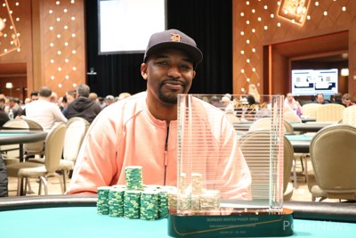 Kareem Marshall wins the 2020 BWPO Almighty Stack