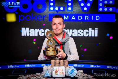 Marco Biavaschi wins 2020 888poker LIVE Madrid Main Event