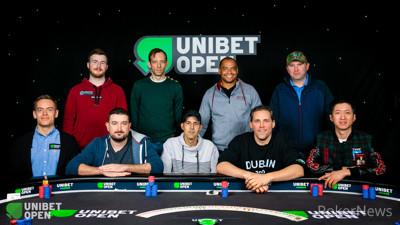Unibet Open Dublin Main Event Final Table