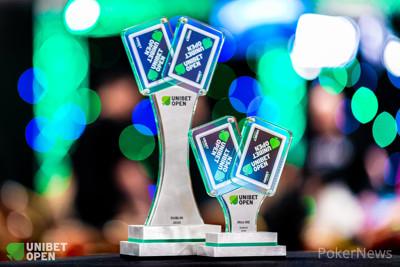 Unibet Open Dublin Main Event Trophies
