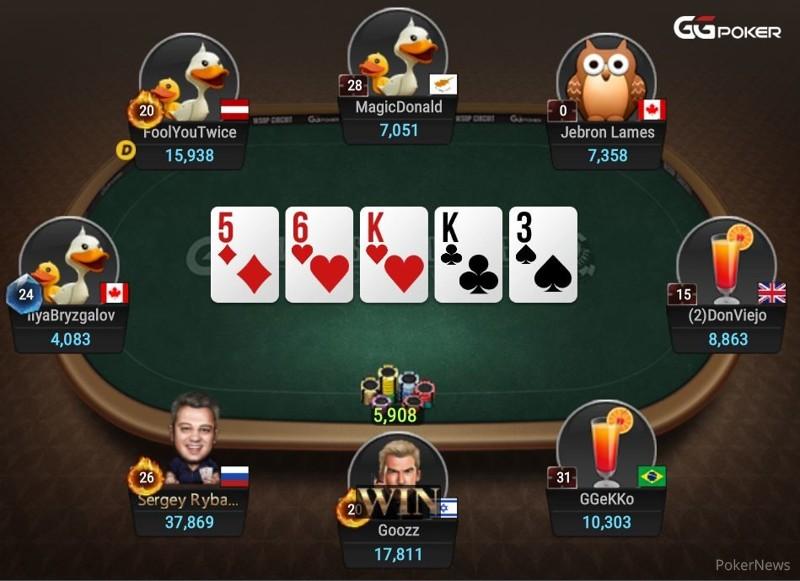 Quot Goozz Quot Shoves The River 2020 Ggpoker Wsop Online Super Circuit Pokernews