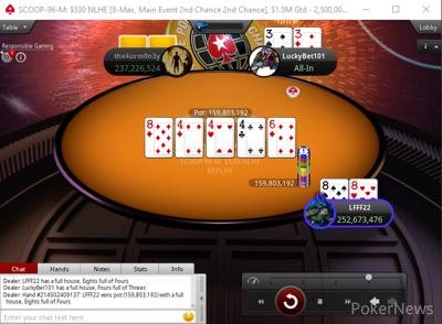 LuckyBet101 vs Freitas