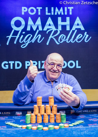 Roger Hairabedian Wins the King's PLO High Roller