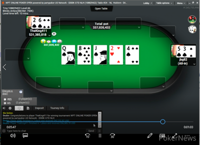 """""""jbg82"""" Eliminated in 2nd Place ($42,232.82)"""
