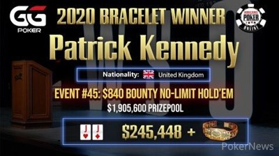 "Patrick ""Muddington"" Kennedy Wins Event #45"