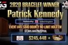 "Patrick ""Muddington"" Kennedy Wins First WSOP Bracelet & $245,448 in Event #45: $840 Bounty NLHE"