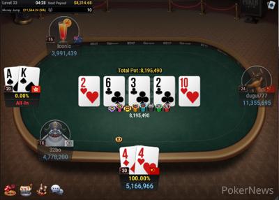 PokerSamurai eliminated