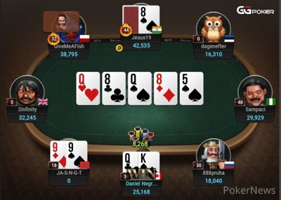 Negreanu Chips Up