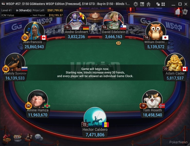 Event 57 Final Table