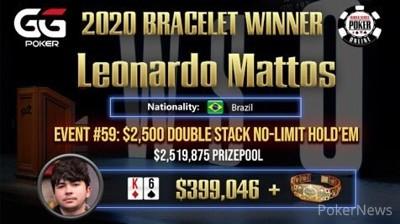 Leonardo Mattos wins Event #59