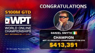 Daniel Smyth wins WPT WOC Knockout Championship