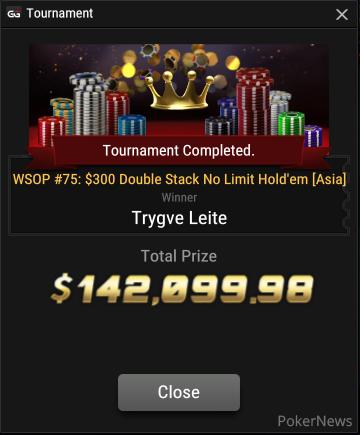 "Trygve ""FullSendWig"" Leite Wins Event #75"