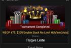 "Trygve ""FullSendWig"" Leite Wins Event #75: $300 Double Stack NLHE ($130,100)"
