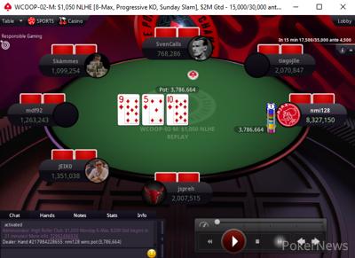 """McDermott Folds to """"nmi128""""'s four-bet Shove"""
