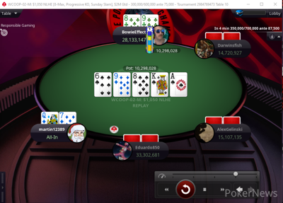 Final table is set
