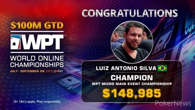 Luiz Antonio Silva wins WPT WOC Micro Main Event