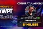 Luiz Antonio Silva Wins WPT World Online Championships Micro Main Event ($148,985)