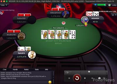 Schemion doubles against Badziakouski