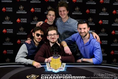 Nicolo Molinelli at the PokerStars Championship in Monte Carlo