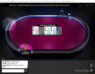 """""""corner130"""" Eliminated in 3rd Place ($11,000)"""