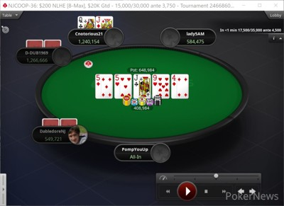 """""""PompYouUp"""" Eliminated in 5th Place ($2,048)"""