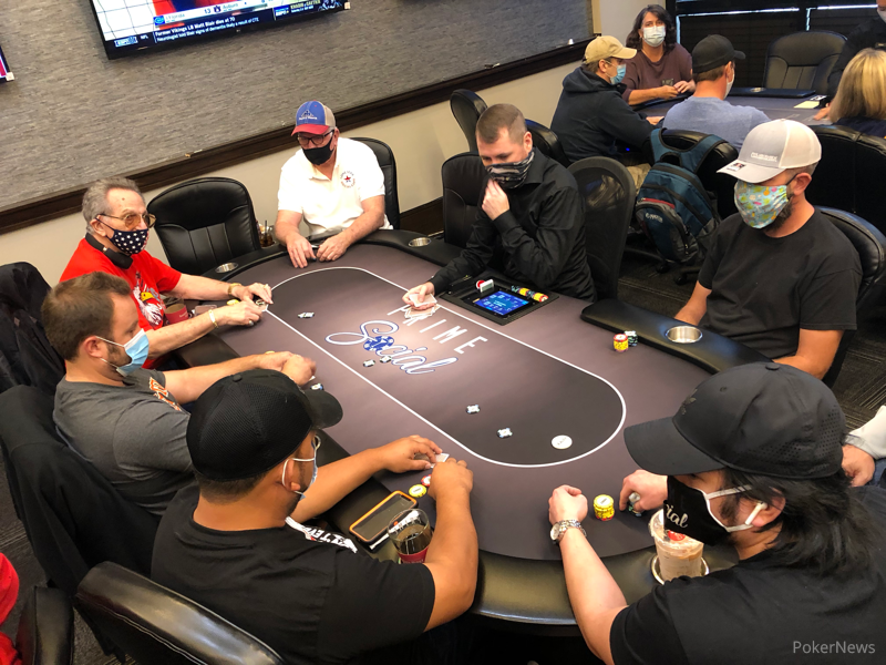 Day 6 of the Lone Star Poker Series Has Begun!   Lone Star Inaugural Poker Series   PokerNews