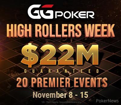 GGPoker High Rollers Week