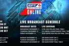 EPT Online Twitch Schedule