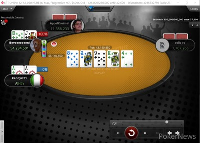 """""""kennyct31"""" Eliminated in 4th Place ($21,715)"""