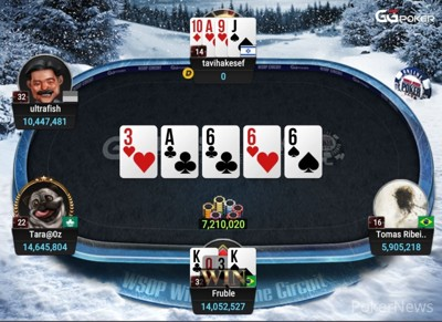 """tavihakesef"" Bubbles Final Table"