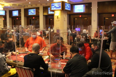 MSPT Poker Bowl V at Venetian Day 1b