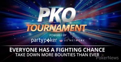 partypoker US PKO Tournament