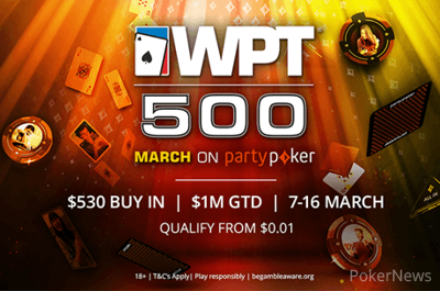 WPT500 at partypoker