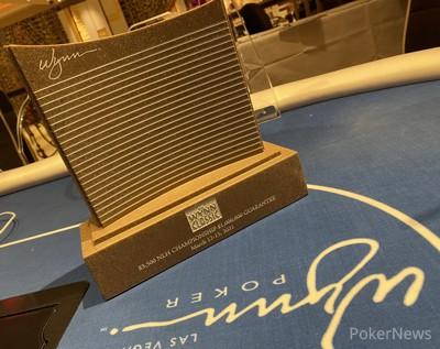 Wynn Spring Classic $3,500 Championship trophy