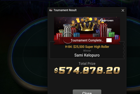 Sami Kelopuro Wins GG Spring Festival H-84: $25,500 Super High Roller ($574,878)