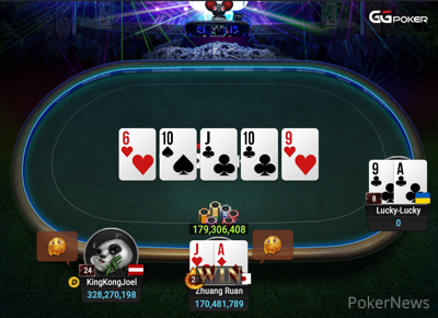 """""""Lucky-Lucky"""" Eliminated in 3rd Place ($670,296)"""