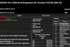 """hashtagmtglife""  Crushes Final Table in Event #29-H: $300 NLHE (PKO, Thursday Thrill SE) $40K GTD"