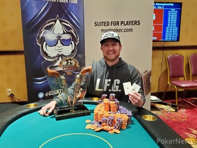 Taylor Howard 2021 MSPT South Dakota State Poker Champion