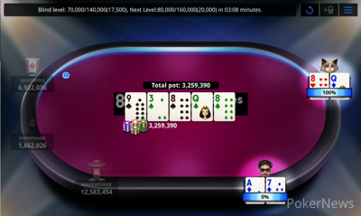 """""""LazBanker"""" Eliminated in 5th Place ($2,889)"""
