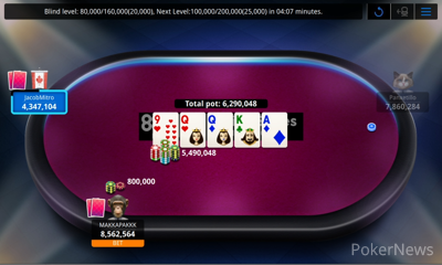 """""""JacobMitro"""" Eliminated in 3rd ($5,311)"""