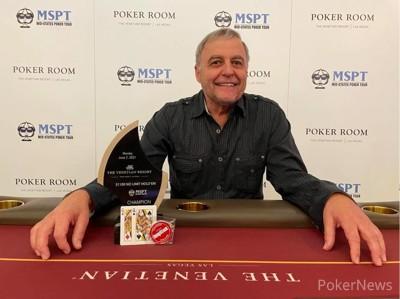 Venetian MPST $1,100 Main Event Champion Harlen Miller