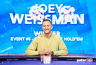 Joey Weissman Mounts a Comeback for the Ages to Win USPO Event #5 ($204,000)