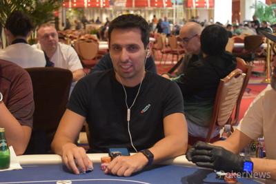 Sergio Aido, Second in The Grand