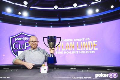 Dylan Linde Wins PokerGO Cup Event #3: $10,000 NLHE