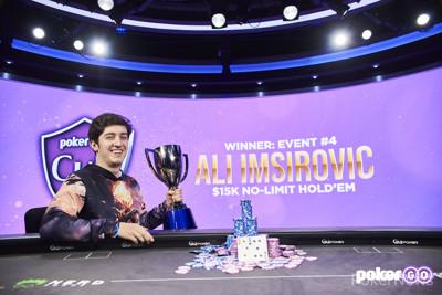 Ali Imsirovic Wins PokerGO Cup Event #4
