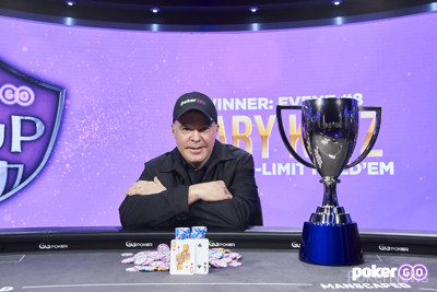 Cary Katz Wins PokerGO Cup Event #8