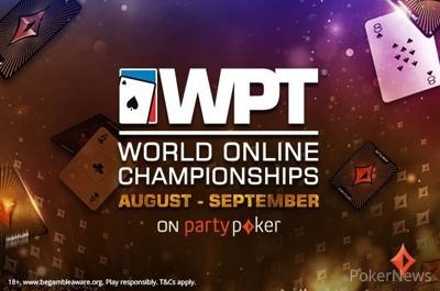 $1M Gtd Opener Kicks off the 2021 WPT World Online Championships