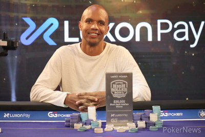 Phil Ivey Wins SHRB Europe Event #1