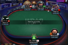 Stacks at Break with 6 Left