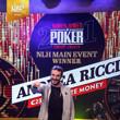 Andrea Ricci Wins the 2021 WSOPC Main Event at King's Resort